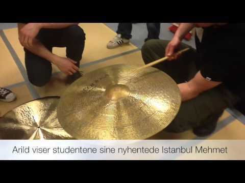 STOMP på NISS med Arild Nyborg Cymbalnerd
