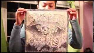 DIY Woodblock Carving, Printmaking tutorial at home