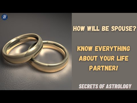 Predict marriage- Only lecture you require | How will be spouse? | Astrology | En & Hindi