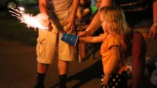How to keep little kids safe with sparklers!
