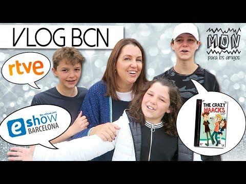 ¡VLOG de vértigo en BARCELONA! 🎥 Entrevista en RNE, Conferencia E-SHOW, Hotel Tour, Firma de libros
