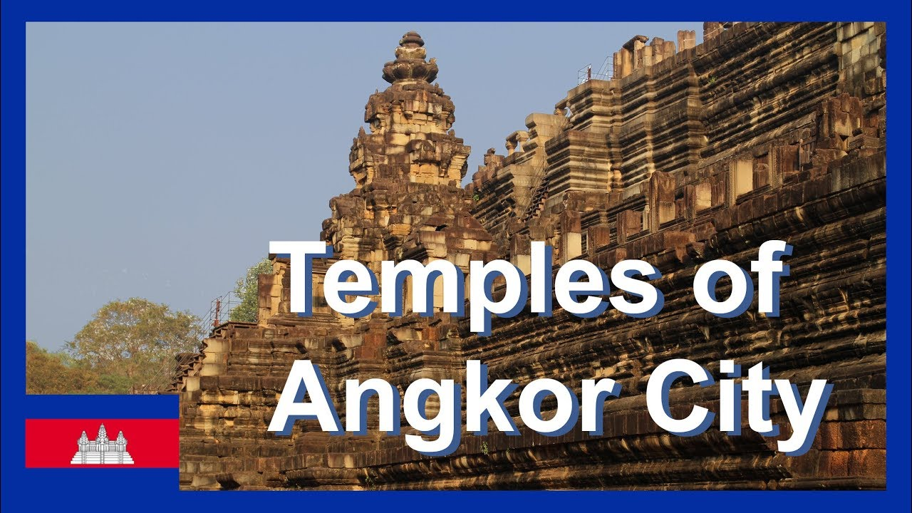 Angkor Wat and more temples in Agkor City Cambodia Travel Video exploring Angkor City by remork-moto