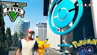 vuclip GTA V MOD POKEMON GO EN GTA !! CAPTURANDO POKEMON EN GTA 5 MODS PC !! Makiman