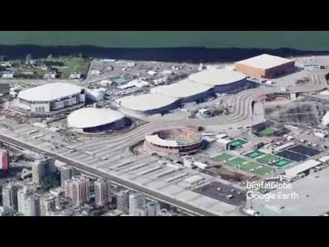 Olympic Venues fly over