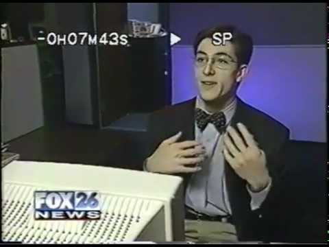 ‪KRIV26 News - Houston - 1990s Technology Segment -- Internet Surfing Monitoring