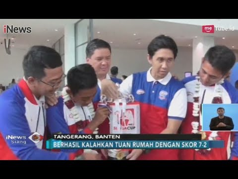 SELAMAT! Okky Youth Soccer Sabet Juara di Ajang Singa Cup 2018 - iNews Siang 10/11 Mp3