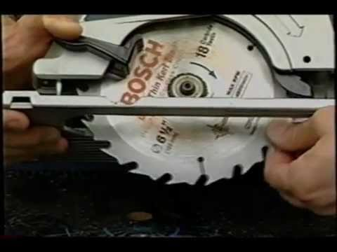 how to use a circular saw youtube