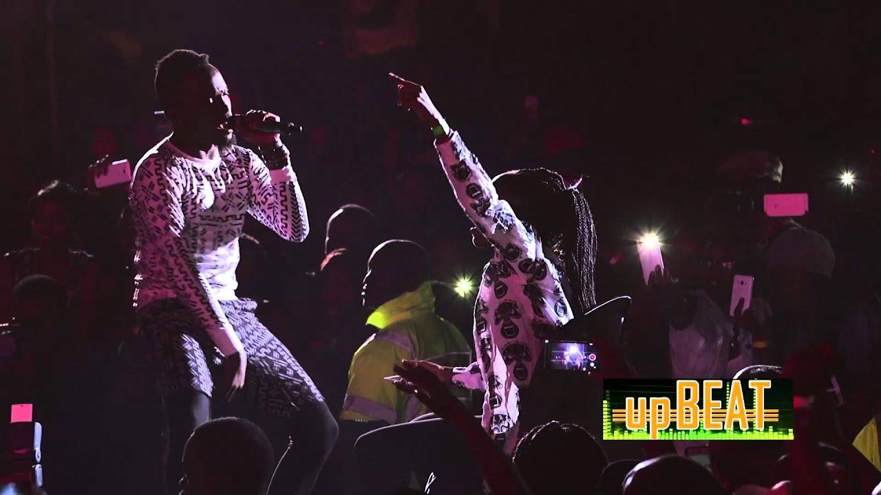 Download SAUTI SOL  NISHIKE Live performance #Upbeat