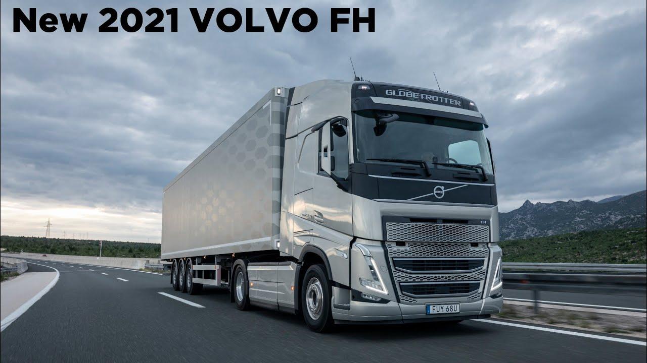 New 2021 VOLVO FH Revealed - Interior, Exterior - YouTube