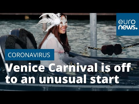 Venice Carnival starts amid 'coronavirus and high tide fears'