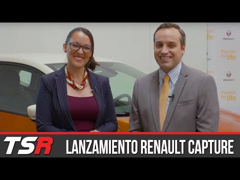 Lanzamiento Renault Captur - Espacioso, moderno y con ganas de resaltar | Monika Marroquin