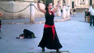 Flamenco!(with castanets)