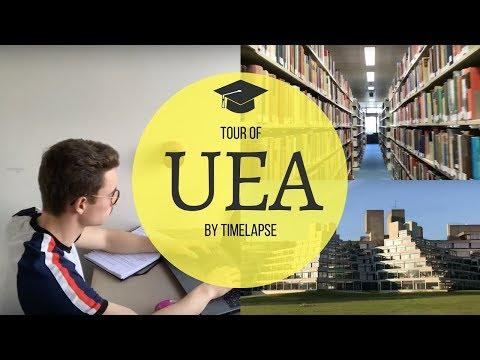 UEA CAMPUS TOUR | TIME LAPSE!