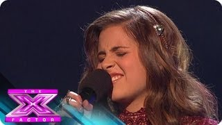 """Carly Rose Sonenclar Tickles the Ivories on  """"Imagine"""" - THE X FACTOR USA 2012"""