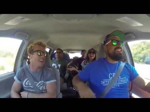 CKR Carpool Karaoke on Highway 1- Mr Brightside