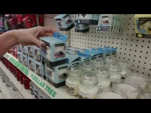 Dollar Tree Candle Section / Shelf Organization (Quiet[er])