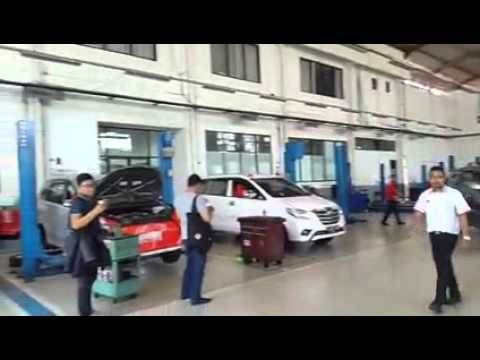 Bengkel Tunas Toyota Pasar Minggu #TunasExperience