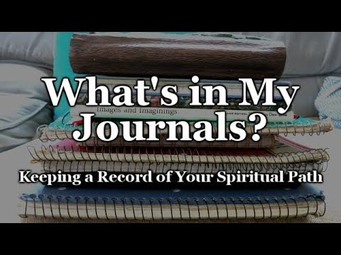 My Witchy Journals | Recording My Spiritual Path