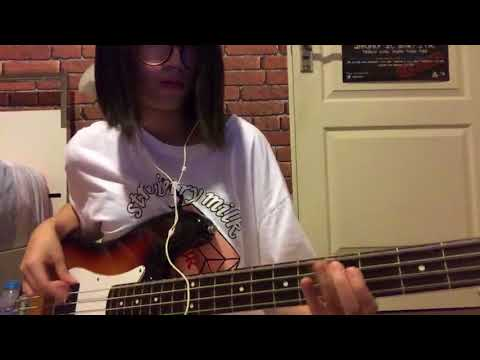 BLUE FLAME (ALICE NINE) - BASS COVER
