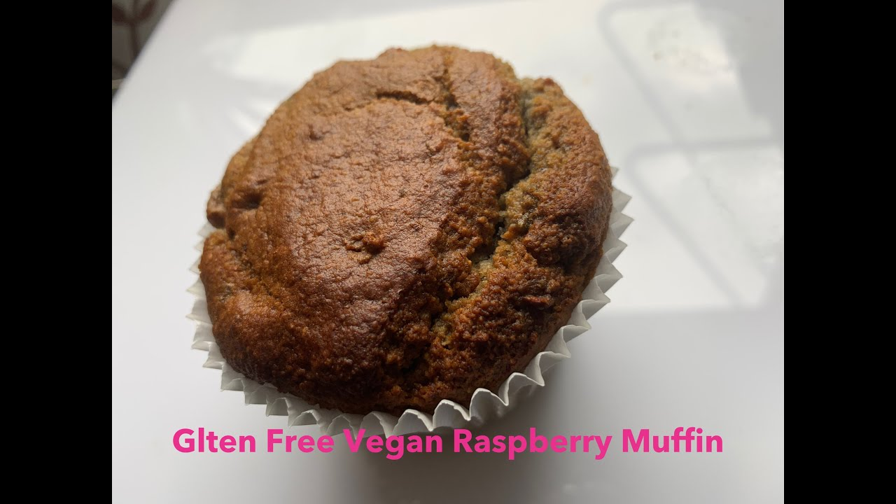 Gluten Free Vegan Raspberry Muffin Recipe