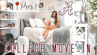 COLLEGE MOVE IN VLOG!  | University of Alabama