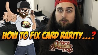 HOW TO FIX CARD RARITY...?