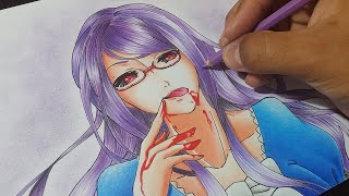 Download Video Speed Drawing Challenge Rize Kamishiro - Tokyo Ghoul MP3 3GP MP4