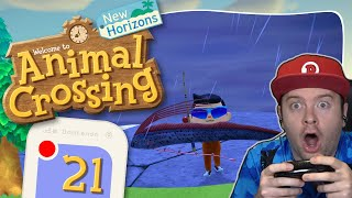 ANIMAL CROSSING: NEW HORIZONS 🏝️ #21: Riemenfisch & Anglerfisch geangelt!