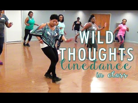 WILD THOUGHTS LINE DANCE IN CLASS