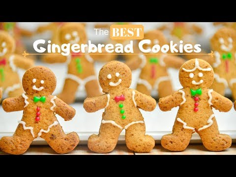 The BEST Gingerbread Cookies | No Molasses Gingerbread Cookies |  Gingerbread Man Cookie Recipe