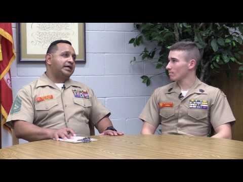 Spanish Language - Interview with Cadet Juan Carlos Carmona