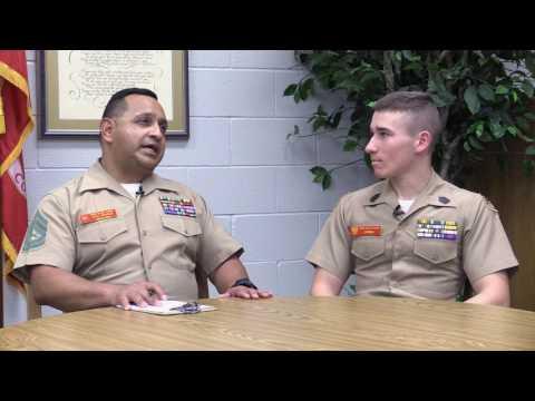Spanish Language - Interview with Cadet Juan Carlos Carmona