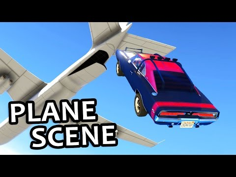 GTA V - Fast And Furious 7 Plane Scene