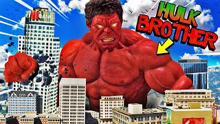 HULK Has A BROTHER In GTA 5 (Roleplay)