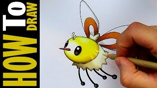 cutiefly wommel pokemon sun moon speed drawing