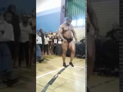 Sifiso Lungelo Thabethe - Bodybuilder Break Neck, Backflip Death