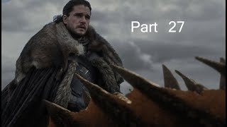 Game of thrones season 8. Jon rides dragons, The Great Other