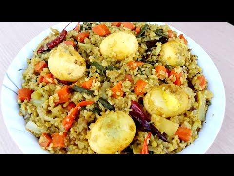 ডিম দিয়ে লেটকা খিচুড়ি রান্না রেসিপি । Latka Khichuri Dim Diye Ranna Recipe