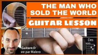 The Man Who Sold The World Guitar Lesson - part 1 of 6