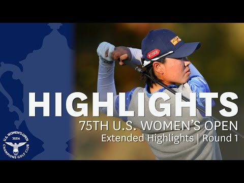 2020 U.S. Women's Open, Round 1: Extended Highlights