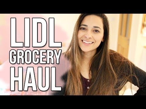 LIDL GROCERY HAUL - IS IT BETTER THAN ALDI? | SEPTEMBER 2017 | Ysis Lorenna