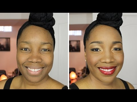Before and After Makeover: Makeup For African/Black/Ethnic Skin Tones