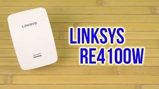 Розпакування Linksys RE4100W