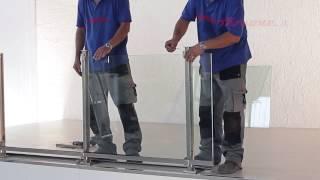 видео Как изготавливаются ограждения из стекла