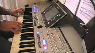 Tie a yellow ribbon (Hammond sound) Tyros 4