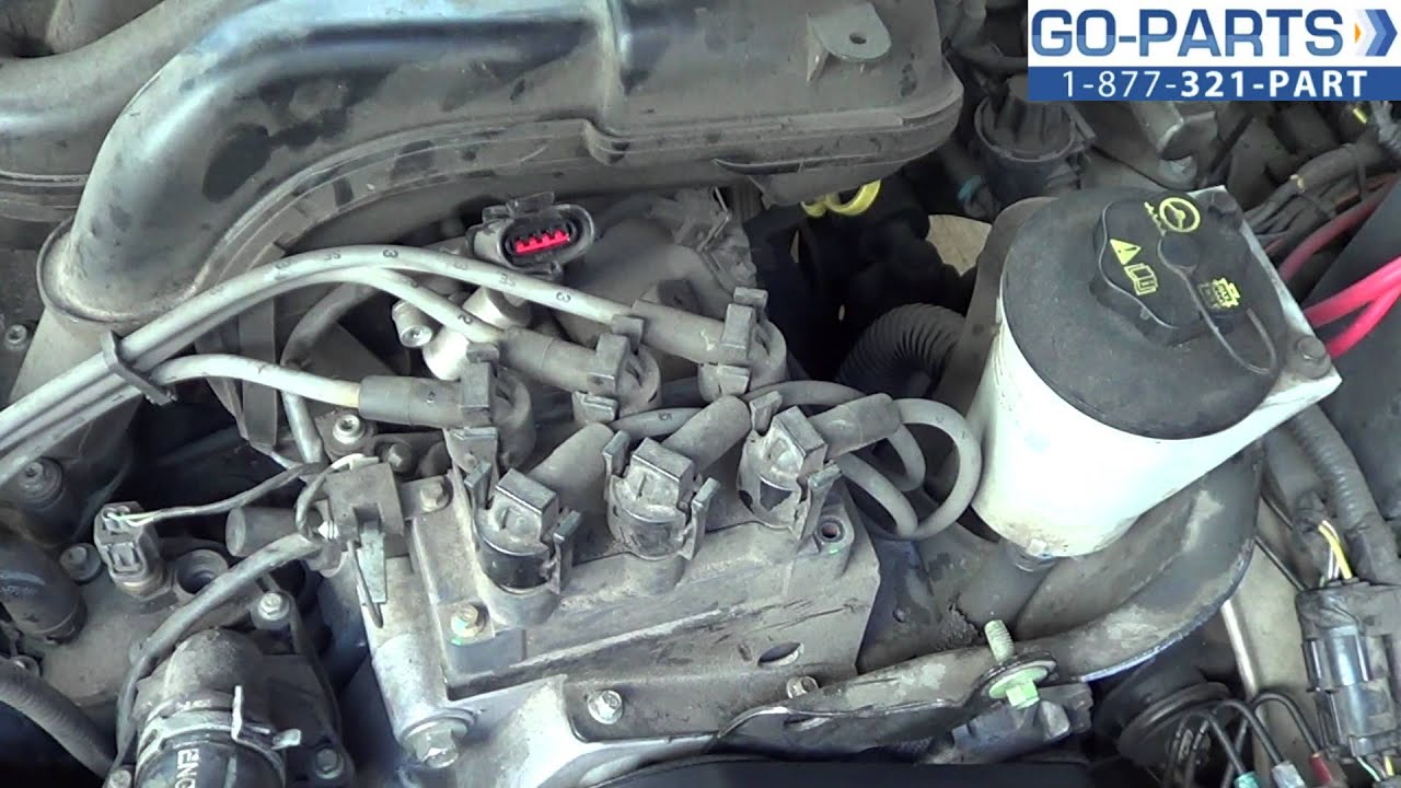 hight resolution of replace 2001 2005 ford explorer ignition coil how to change install 2002 2003 2004