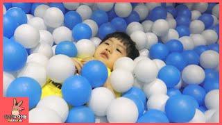 타요 키즈카페 어린이 놀이 미니간다 #2 ♡ 타요버스 자동차 장난감 Tayo kids cafe toys тайо автобус Игрушки | 말이야와아이들 MariAndKids