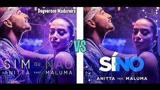 Anitta Feat  Maluma - Sim ou Não (Si o No) 2 Versions + Download