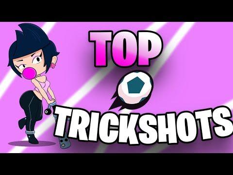 TOP 10 TRICKSHOTS Brawl Ball #2