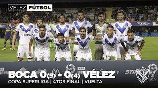 Copa Superliga | Cuartos | Boca 0(5) - 0(4) Vélez